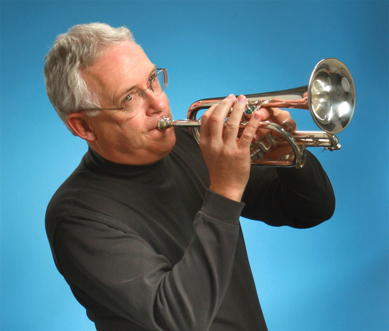 Court Mast plays cornet